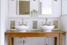 bathroom ideas / by Denise Coonley