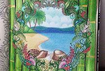 moře kreslené motivy