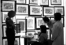 Restauración / La conservación de sus colecciones es una de las principales responsabilidades del Museo. En ciertos casos una obra puede estar deteriorada y ser necesaria su restauración. Os animamos a conocer más sobre cada proceso siguiendo el enlace de las imagenes