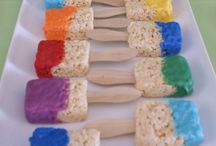 Fun Rice Krispy Treats