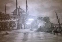 yaglıboya art / yaglıboya resim çalışmalarım Nermin TAŞCI amatör ressam
