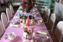 Tea Party Themed Baby Shower