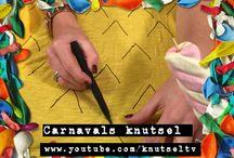 Easy Peasy knutsels / De makkelijke knutsels van de knutselzussen vind je hier! De foto's, want de filmpjes staan op het YouTube kanaal KnutselTV