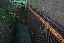 Ukončení fasády lišty