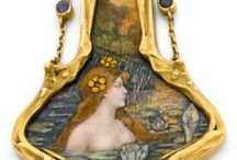 biżuteria art nouveau