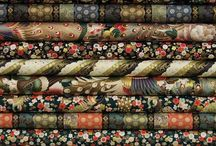 Oriental Fabrics / The Orient has always been a place of inspiration for the textile world.  Rich colors and beautiful motifs highlight these rare reproduction fabrics. / by Hancock's of Paducah