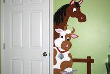 Kinderzimmer Wandgestaltung