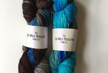 Fibre, felt & silk / Handmade products & art with yarn, silk, and felt.