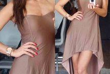 Short-long skirt