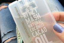 Coconut Cacao Oil / Potenciador del bronceado · Máscara capilar · Humectante corporal