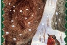 Boże Narodzenie - ilustracje