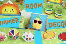 5 IDEAS DECORACIÓN VERANO - Summer Room Decor