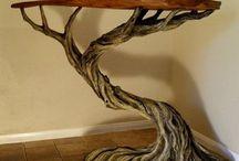 rzeźba drzewa