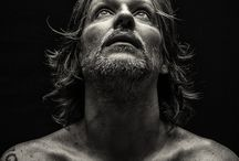 zwart wit inspiraties / Fotoshoot ideeën. zwart wit portretten.