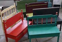 DIY inspirace lavičky a lavice
