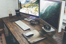 computer office decor