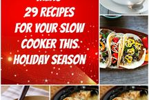 Recipes- slow cooker / by Laura Heald