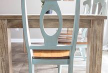 Distressed Dining Chair DIY