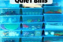 Quiet bins