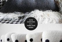 kussens / pillows / by hendrina kloet