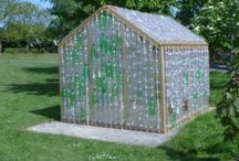how to make a greenhouse with plastic bottles