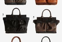 Get on my shoulder(s)! / bags for work and play