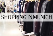 | Shopping in Munich | / on munichinside.de you can find the best places for shopping in munich!  / by Munich Inside