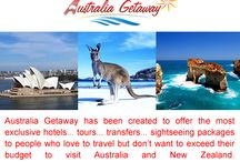 Tour Packages - Australia / Australia Getaway is a tours and travel company in Australia,involved in every aspect of tours and travel services like vacation packages, honeymoon packages, online hotel booking, rental car and coach services, sightseeing tours and more. Visit Our Website: http://www.australiagetaway.com.au/