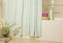 Fabric Shower Curtains / Designer Fabric Shower Curtain - Fabric Shower Curtains - Elegant Fabric Shower Curtains