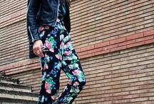 Flowerprint pants