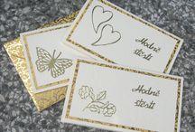 Minipřání, kartičky s obálkami