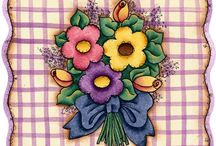 PRINT: flowers/trees