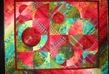 Quilting - Circles, Drunkard's Path Quilts / Circle quilts