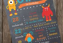 Trav first birthday / by Bec Morris