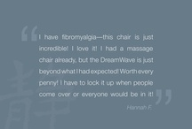 Customer Love / Inada customers love their massage chairs, and love to say so!