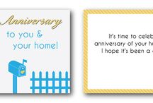 Real Estate Greeting Cards / #RealEstate Branded Greeting Cards #KeepInTouch