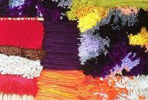 Weaving and Macrame