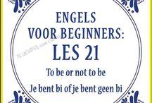 Engels leren op zijn nederlands