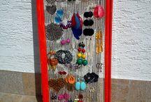 odkladanie - šperky, šatky