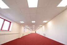 Liverpool Football Club / New lighting installed by Konect to their offices and merchandise warehouse