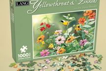 Puzzles By LANG / Fun for the whole family or a thoughtful gift, these Jigsaw Puzzles are sure to delight puzzle lovers everywhere! / by LANG