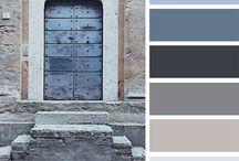 color schemes / cores, paleta de cores