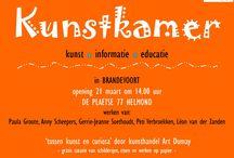 Kunstkamer Brandevoort / Een uniek concept in onze wijk Brandevoort. We hebben een winkelpand ingericht als Kunstkamer. Wisselende tentoonstellingen van iedere keer drie maanden. De opening is op 21 maart 2015 om 14:00 uur.