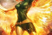 Phoenix / Jean Elaine Grey - Phoenix , is a fictional superhero is a founding member of the X-Men