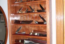 Knife Display Cabinet