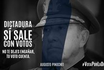 """Campaña """"Dictadura Sí Sale Con Votos"""" / Campaña Publicitaria del partido político venezolano Acción Democrática (AD) """"Dictadura Si Sale Con Votos"""" con reconocidos """"Dictadores"""" del Mundo..."""