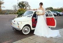 Wedding with Fiat 500  ( sposarsi con una Fiat 500) / Small collection of Wedding Photos including a Fiat 500  Alcune foto di matrimoni con la mitica Fiat 500