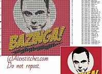 Movies and TV Series cross stitch patterns / Movies and TV Series cross stitch patterns