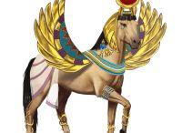 paarden goddelijk