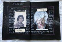 2018 Art Journal / My personal Art Journal